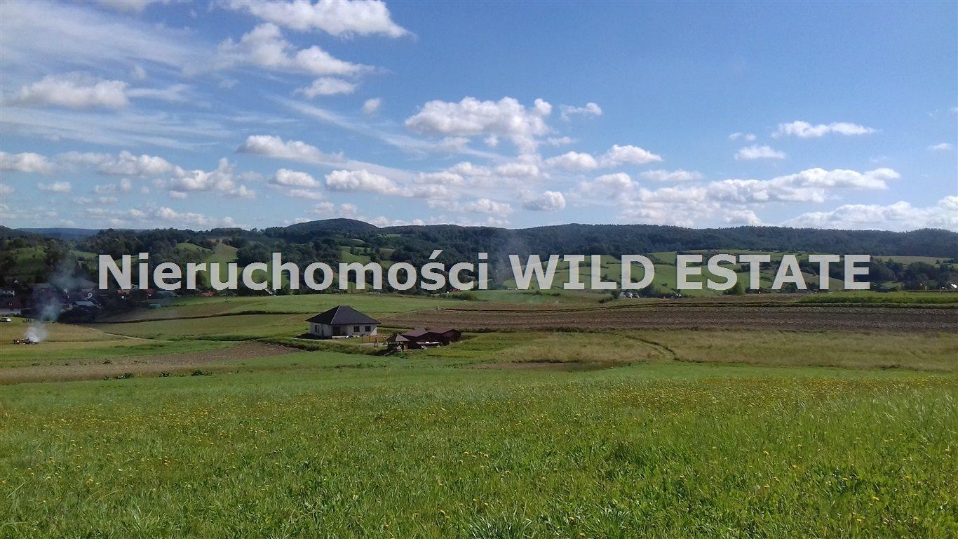 Działka budowlana na sprzedaż Lesko, Średnia Wieś  1446m2 Foto 1