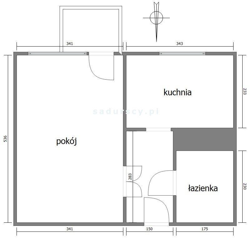 Kawalerka na sprzedaż Kraków, Bieżanów-Prokocim, Prokocim, Telimeny  35m2 Foto 6