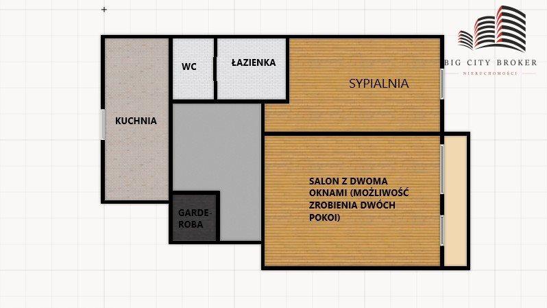 Mieszkanie dwupokojowe na sprzedaż Lublin, Węglin  61m2 Foto 1