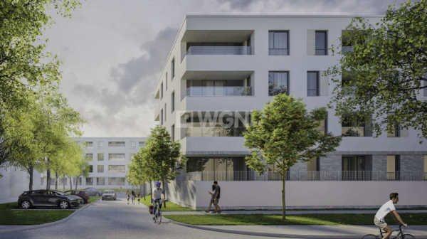 Mieszkanie dwupokojowe na sprzedaż Wrocław, Krzyki, Skarbowców  56m2 Foto 6