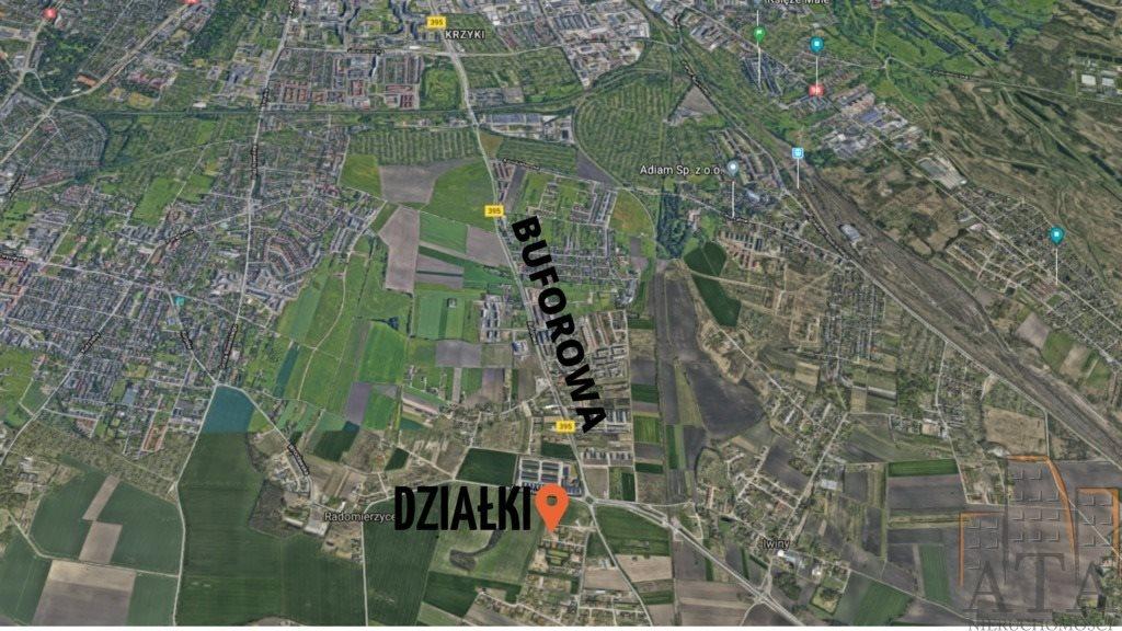 Działka budowlana na sprzedaż Żerniki Wrocławskie  2124m2 Foto 1