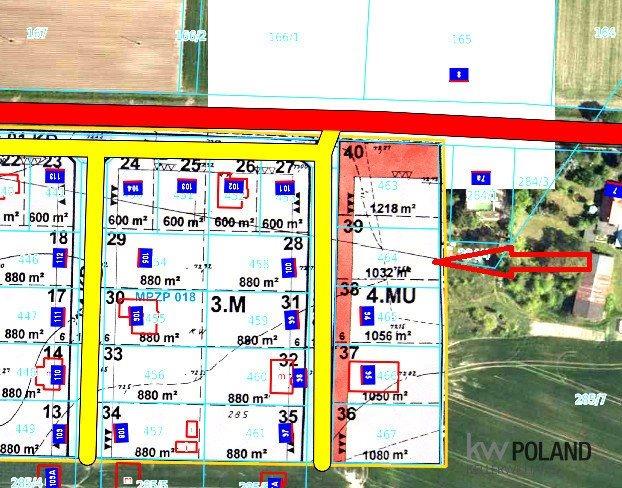 Działka budowlana na sprzedaż Uścikowo  925m2 Foto 1