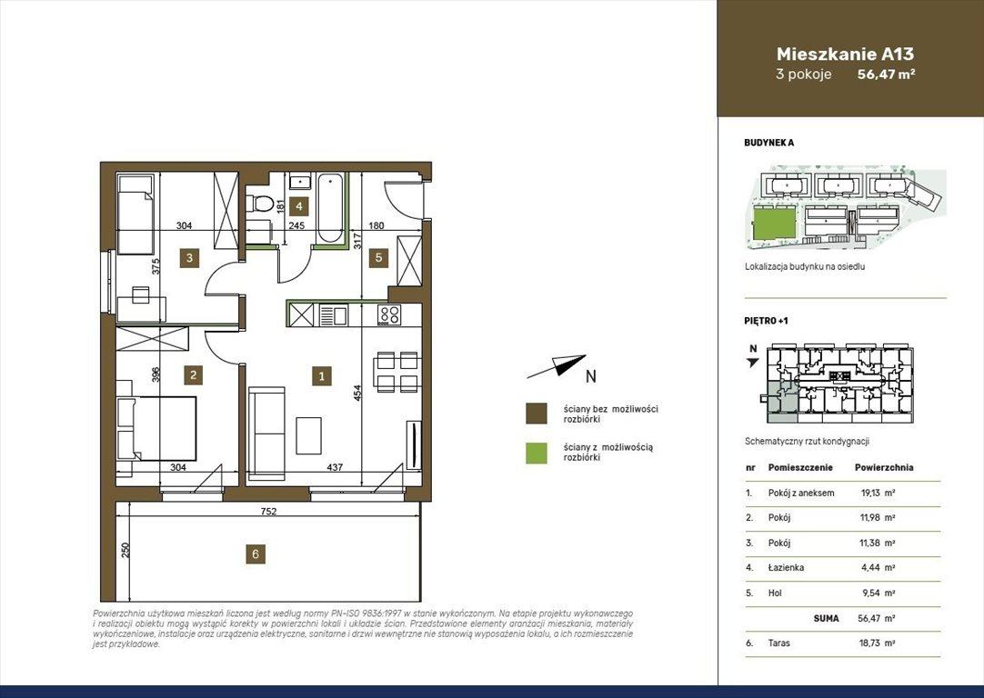 Mieszkanie trzypokojowe na sprzedaż Warszawa, Białołęka, Płochocińska  56m2 Foto 1