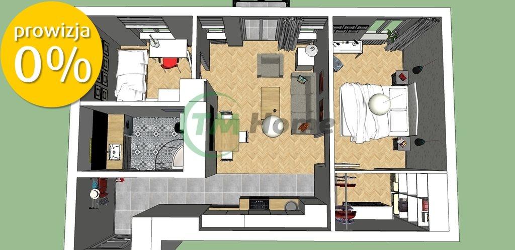 Mieszkanie trzypokojowe na sprzedaż Warszawa, Praga-Północ, Konopacka  51m2 Foto 1