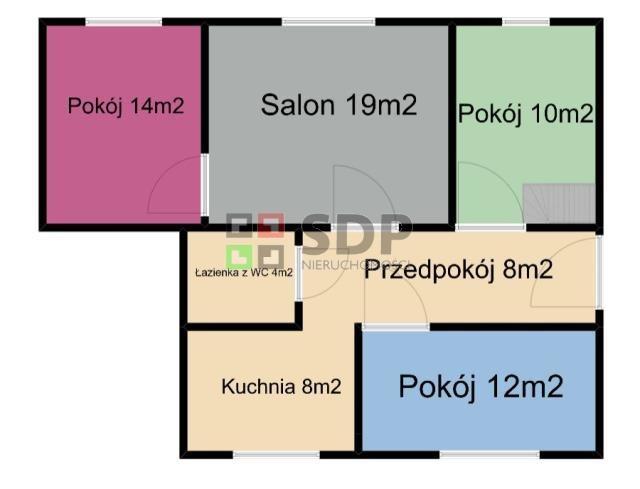 Mieszkanie czteropokojowe  na sprzedaż Wrocław, Krzyki, Gajowicka  75m2 Foto 1