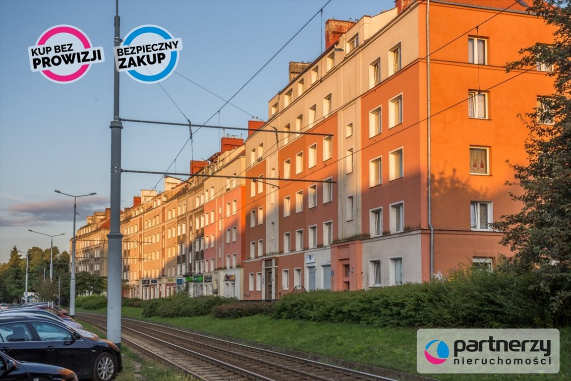 Mieszkanie dwupokojowe na sprzedaż Gdańsk, Siedlce, Kartuska  47m2 Foto 2