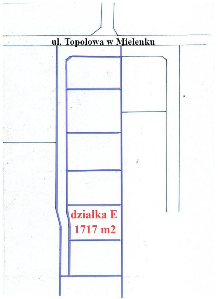 Działka inna na sprzedaż Mielenko  1717m2 Foto 2