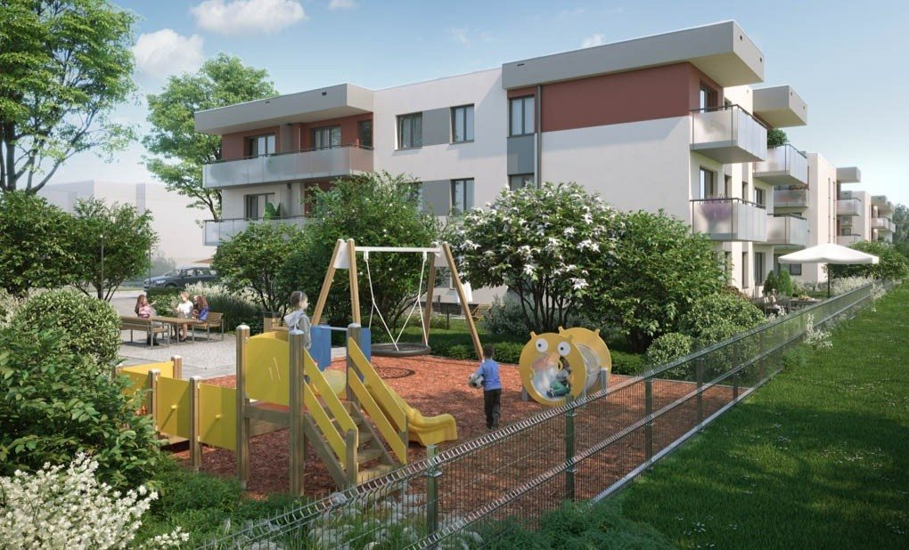 Mieszkanie dwupokojowe na sprzedaż Wrocław, Wojnów  44m2 Foto 2