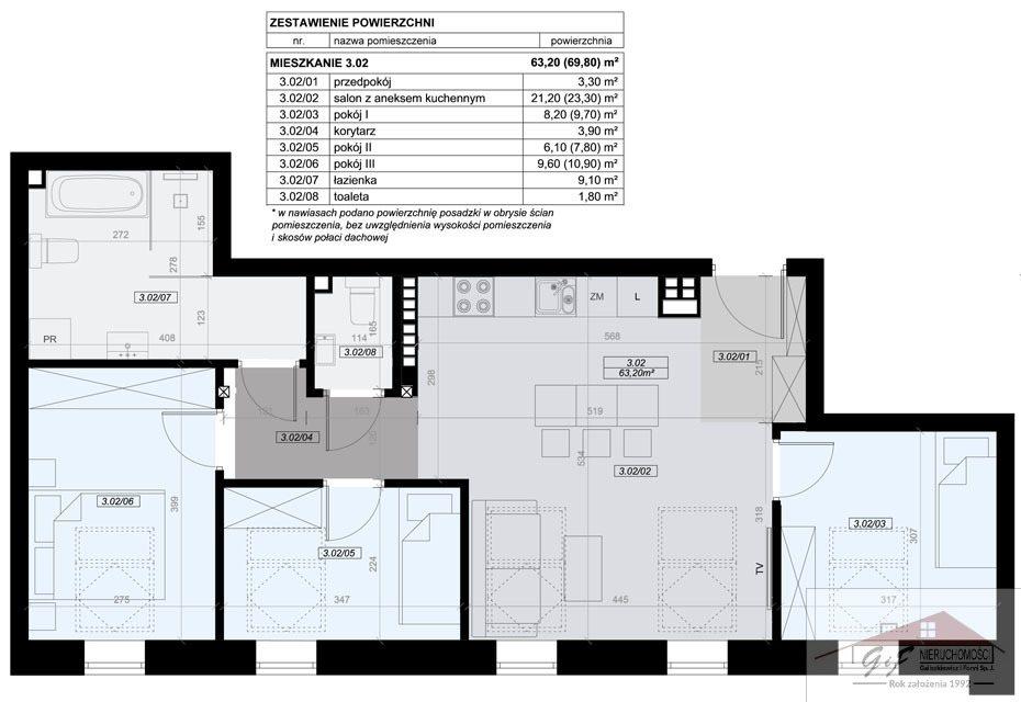 Mieszkanie czteropokojowe  na sprzedaż Przemyśl, Tatarska  63m2 Foto 7