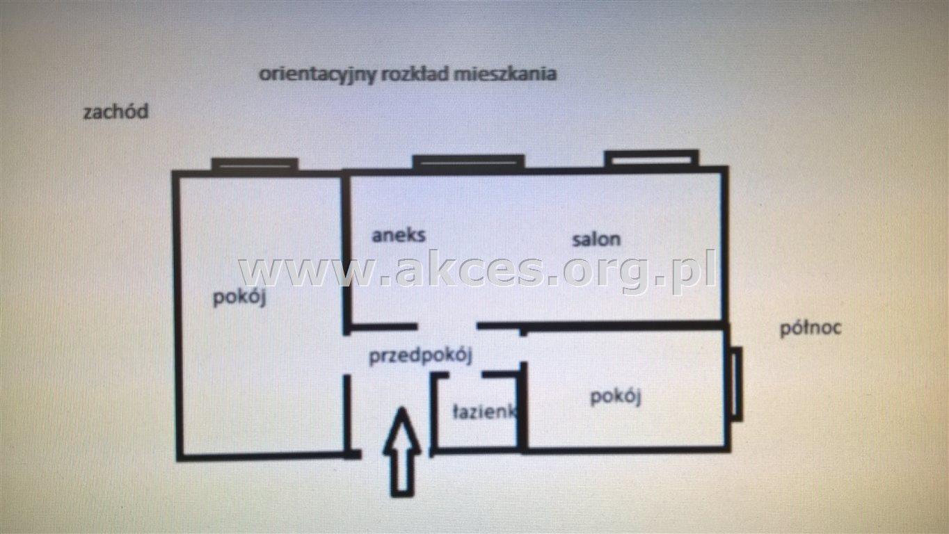 Mieszkanie trzypokojowe na sprzedaż Warszawa, Śródmieście, Za Żelazną Bramą  58m2 Foto 8