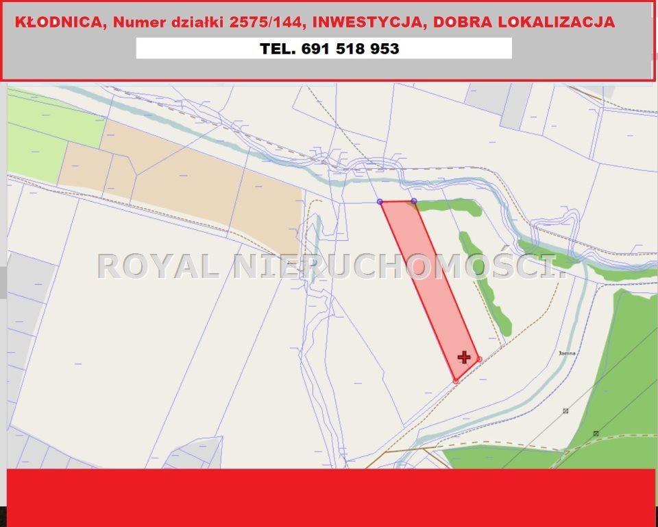 Działka inwestycyjna na sprzedaż Ruda Śląska, Kłodnica  4939m2 Foto 1
