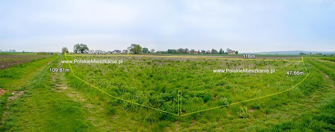 Działka rolna na sprzedaż Przemyśl, Krówniki  5500m2 Foto 3