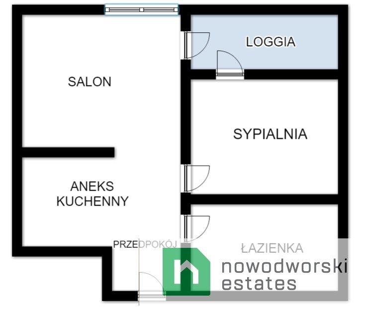 Mieszkanie dwupokojowe na wynajem Kraków, Bronowice, Bronowice, Stańczyka  38m2 Foto 12