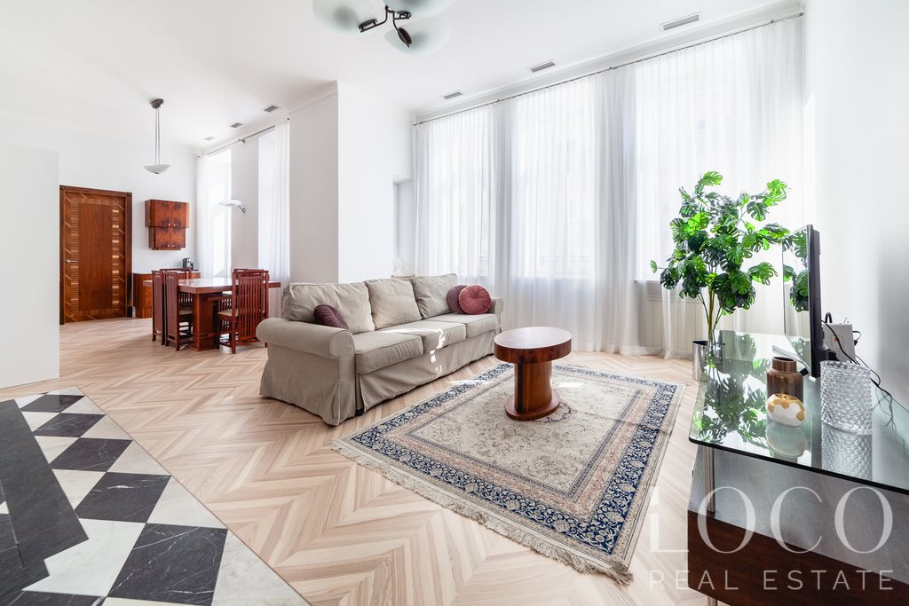 Mieszkanie trzypokojowe na wynajem Warszawa, Śródmieście, Mokotowska  94m2 Foto 1