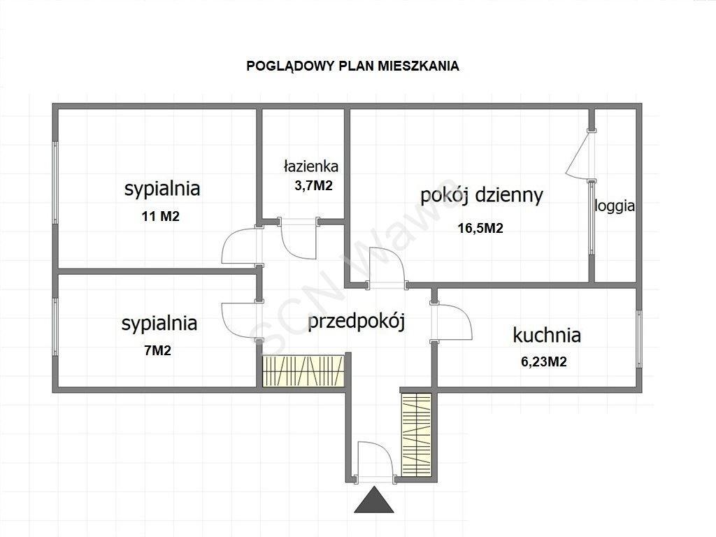 Mieszkanie trzypokojowe na sprzedaż Warszawa, Targówek, Ludwika Kondratowicza  53m2 Foto 12