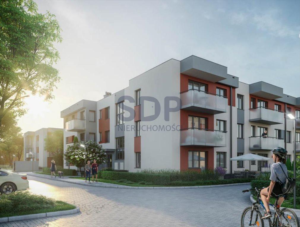 Mieszkanie dwupokojowe na sprzedaż Wrocław, Psie Pole, Wojnów, Perkusyjna  44m2 Foto 1