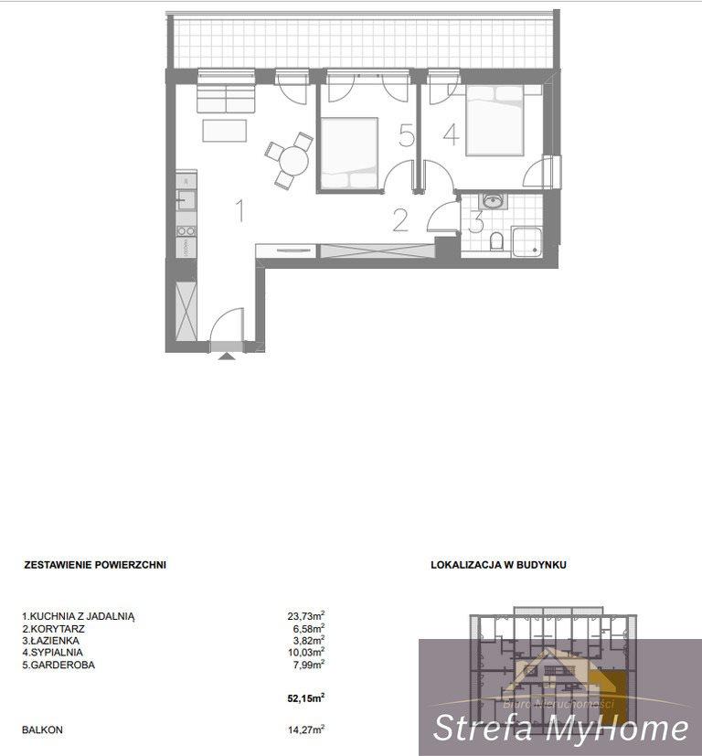 Mieszkanie trzypokojowe na sprzedaż Pobierowo  52m2 Foto 5