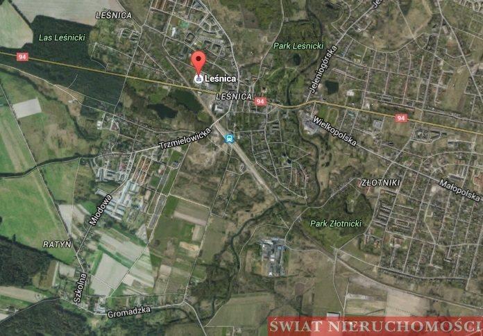 Działka komercyjna na sprzedaż Wrocław, Leśnica, Leśnica  7161m2 Foto 1