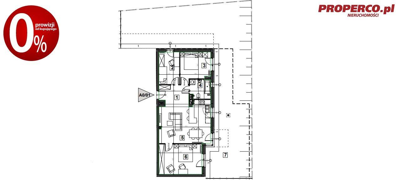 Mieszkanie czteropokojowe  na sprzedaż Nowiny  75m2 Foto 8