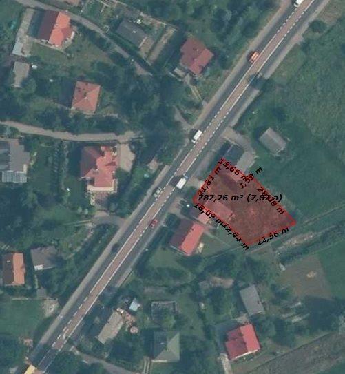 Działka budowlana na sprzedaż Boguchwała, Doktora Tkaczowa  796m2 Foto 2