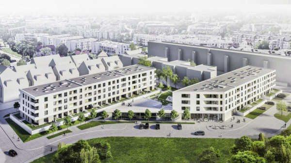 Mieszkanie dwupokojowe na sprzedaż Wrocław, Krzyki, Skarbowców  48m2 Foto 1