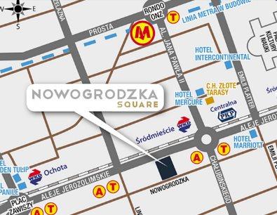 Lokal użytkowy na wynajem Warszawa, Śródmieście, NOWOGRODZKA SQUARE  509m2 Foto 2