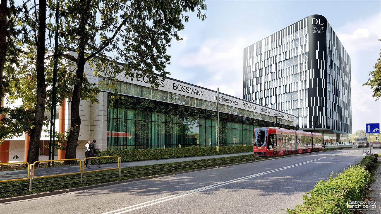 Lokal użytkowy na sprzedaż Katowice, Korfantego 138  500m2 Foto 4