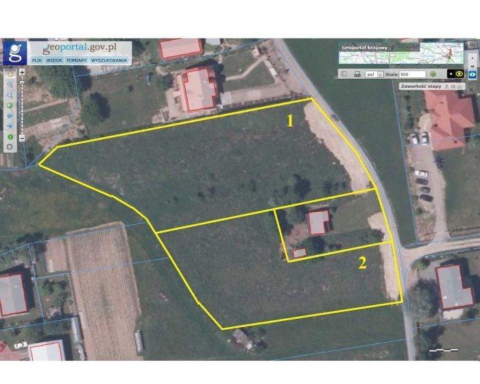 Działka budowlana na sprzedaż Jasło, Sobniów  100m2 Foto 1