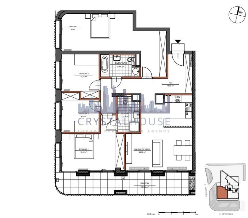 Mieszkanie na sprzedaż Warszawa, Śródmieście, Górnośląska  120m2 Foto 9