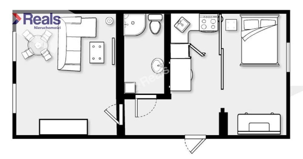 Mieszkanie dwupokojowe na sprzedaż Warszawa, Śródmieście, Stare Miasto, Miodowa  43m2 Foto 8