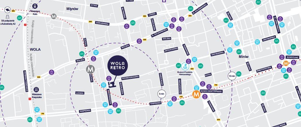 Lokal użytkowy na wynajem Warszawa, Wola, WOLA RETRO  910m2 Foto 4