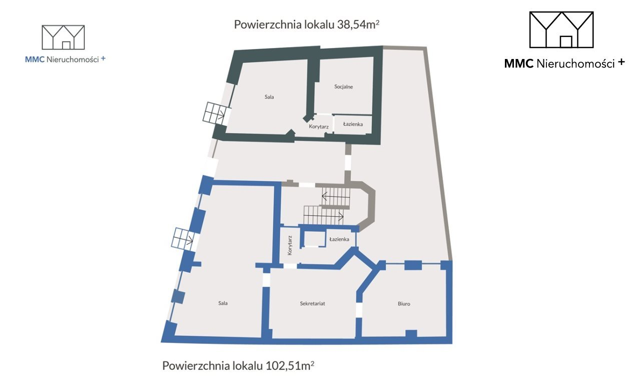 Lokal użytkowy na sprzedaż Bytom, Piłsudskiego  103m2 Foto 3