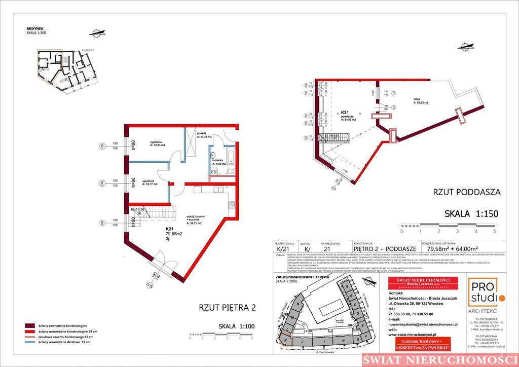 Mieszkanie czteropokojowe  na sprzedaż Trzebnica  143m2 Foto 2