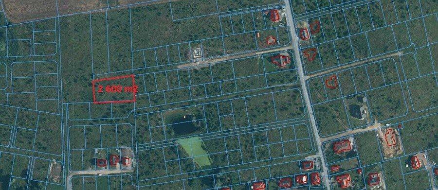 Działka rolna na sprzedaż Mierzyn  2597m2 Foto 1