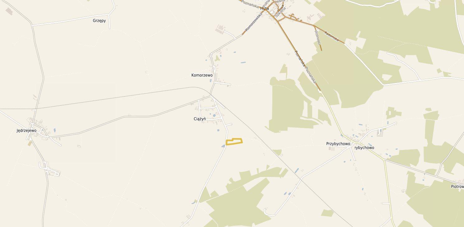 Działka rolna na sprzedaż Komorzewo  28000m2 Foto 2