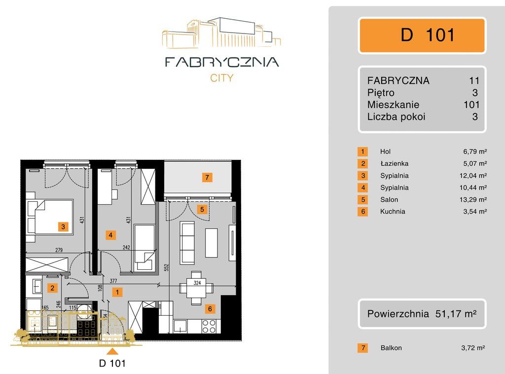 Mieszkanie trzypokojowe na sprzedaż Kraków, Grzegórzki, Grzegórzki, Fabryczna  51m2 Foto 3