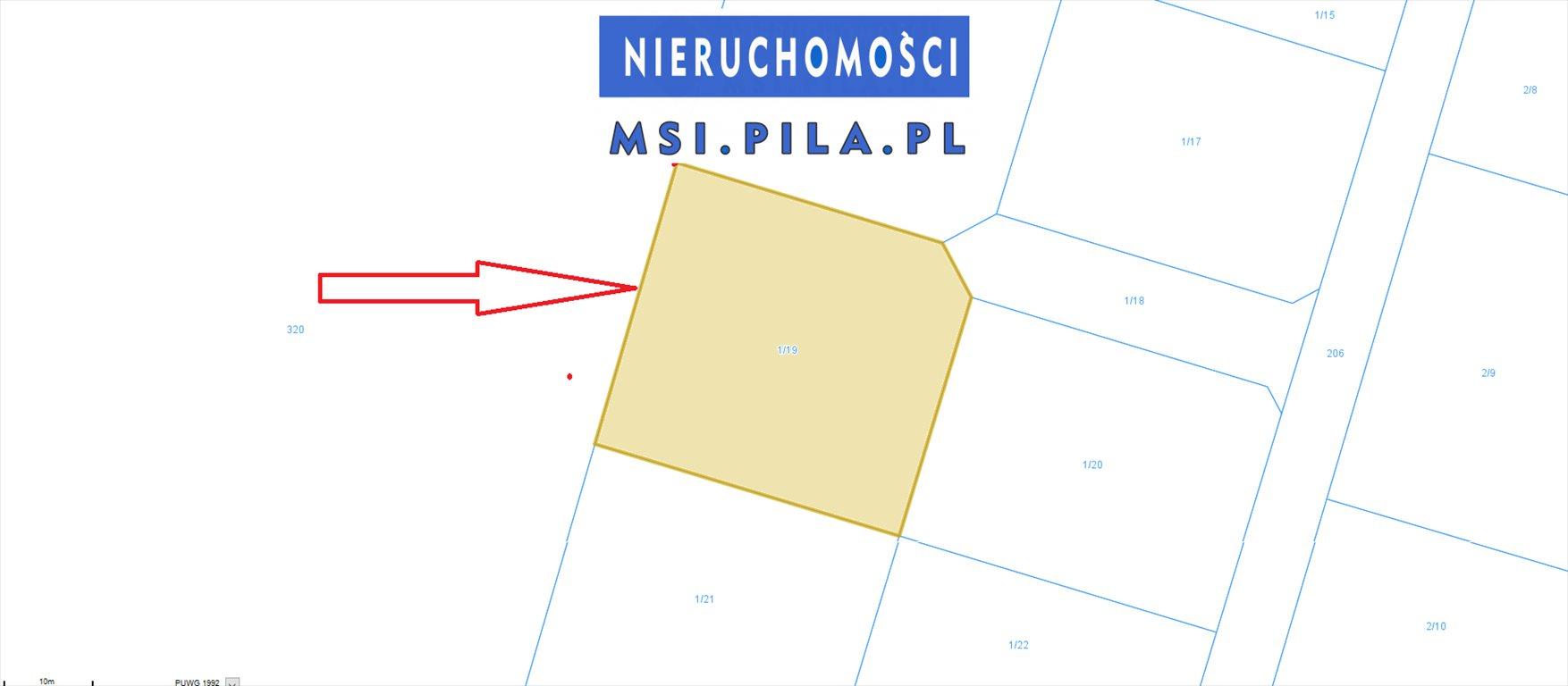Działka budowlana na sprzedaż Dolnik  1220m2 Foto 1