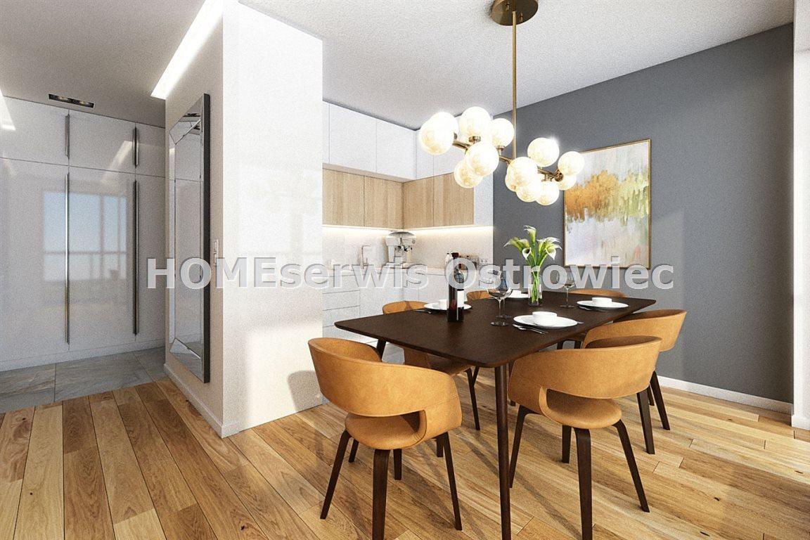 Mieszkanie trzypokojowe na sprzedaż Ostrowiec Świętokrzyski, Centrum  71m2 Foto 5