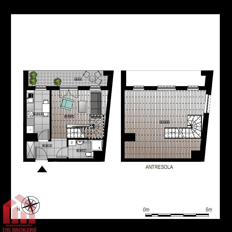 Mieszkanie trzypokojowe na sprzedaż Rzeszów, Przybyszówka, Błogosławionej Karoliny  61m2 Foto 2