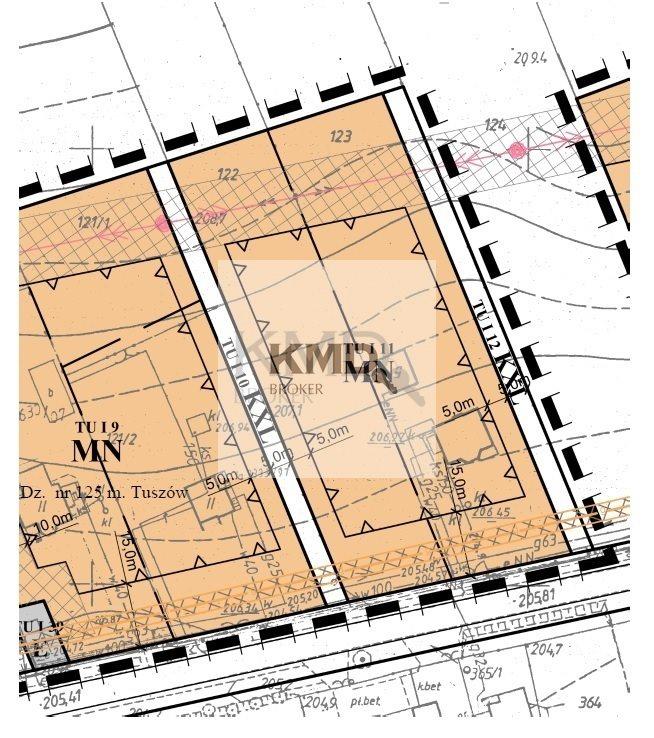 Działka budowlana na sprzedaż Tuszów  4900m2 Foto 3