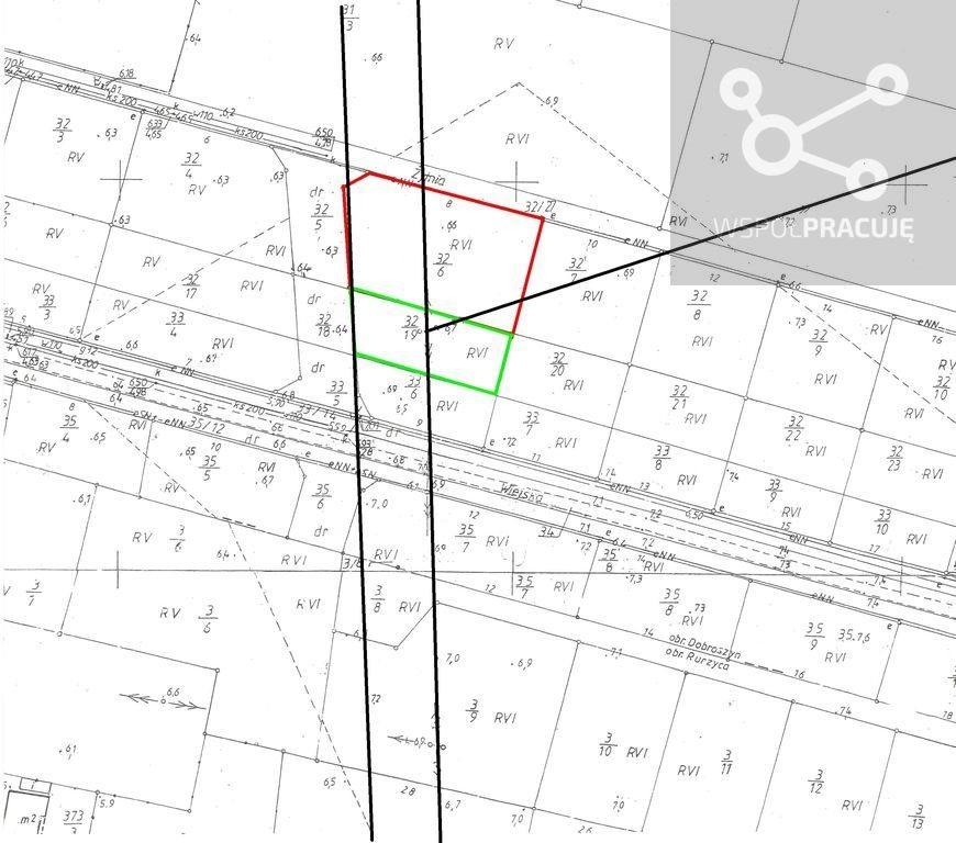 Działka budowlana na sprzedaż Rurzyca, Żytnia  2057m2 Foto 12
