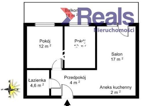 Mieszkanie trzypokojowe na sprzedaż Warszawa, Ursus, Gołąbki, Magnacka  50m2 Foto 7