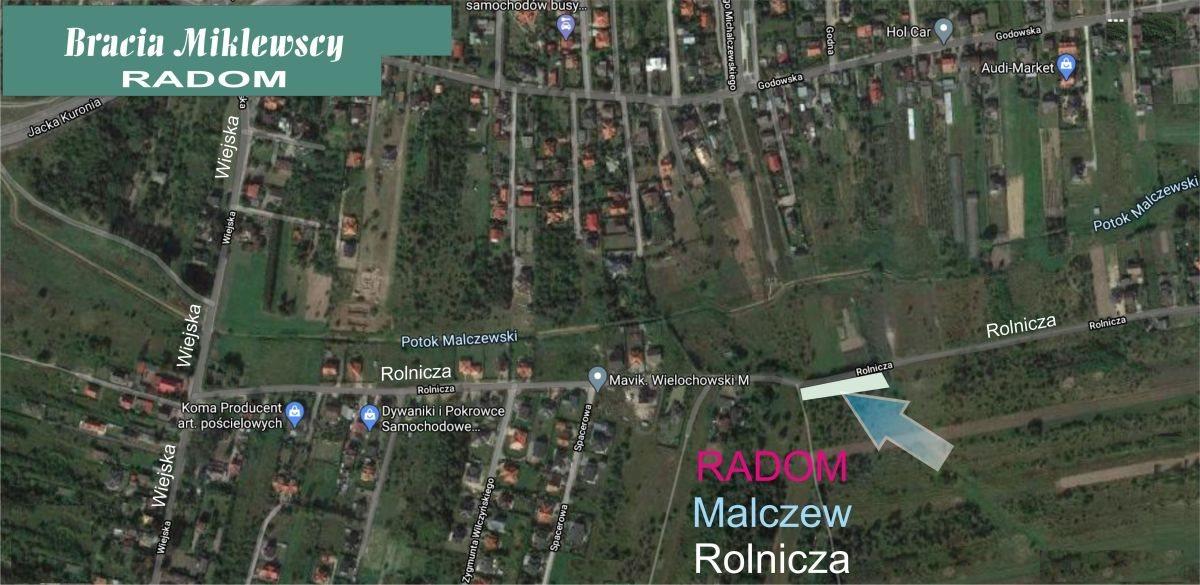 Działka budowlana na sprzedaż Radom, Godów, Rolnicza  1452m2 Foto 2