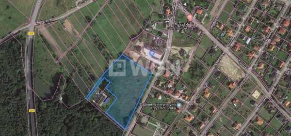 Działka inwestycyjna na sprzedaż Jerzmanowa, Głogowska  16647m2 Foto 1