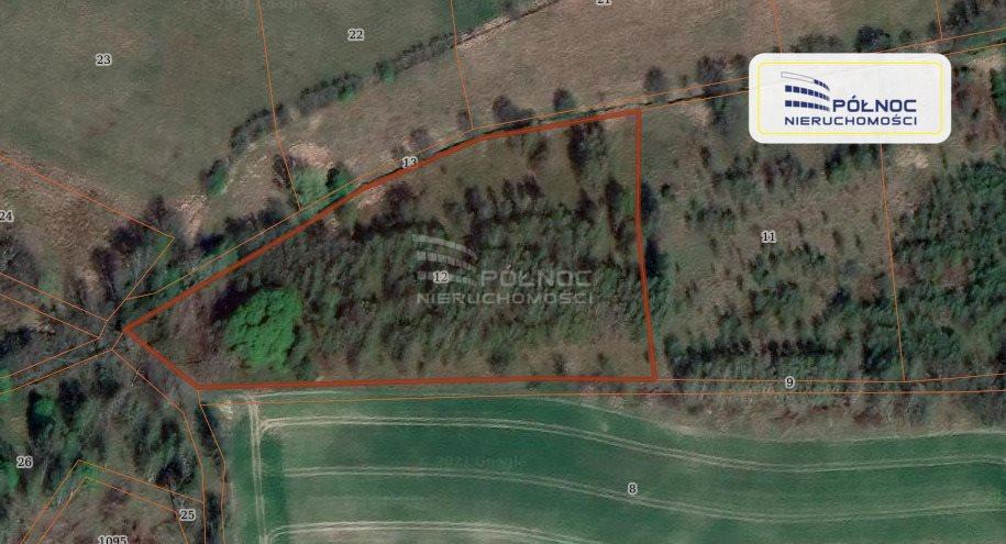 Działka rolna na sprzedaż Gierałtów  10000m2 Foto 1