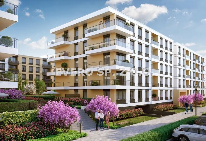 Mieszkanie czteropokojowe  na sprzedaż Wrocław, Psie Pole, ZAKRZÓW - NOWA INWESTYCJA - BEZ PROWIZJI  73m2 Foto 2
