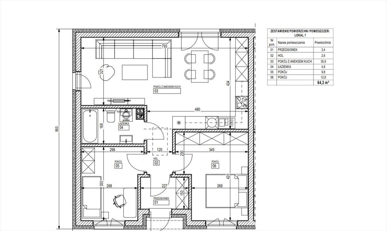 Dom na sprzedaż Śrem  64m2 Foto 5