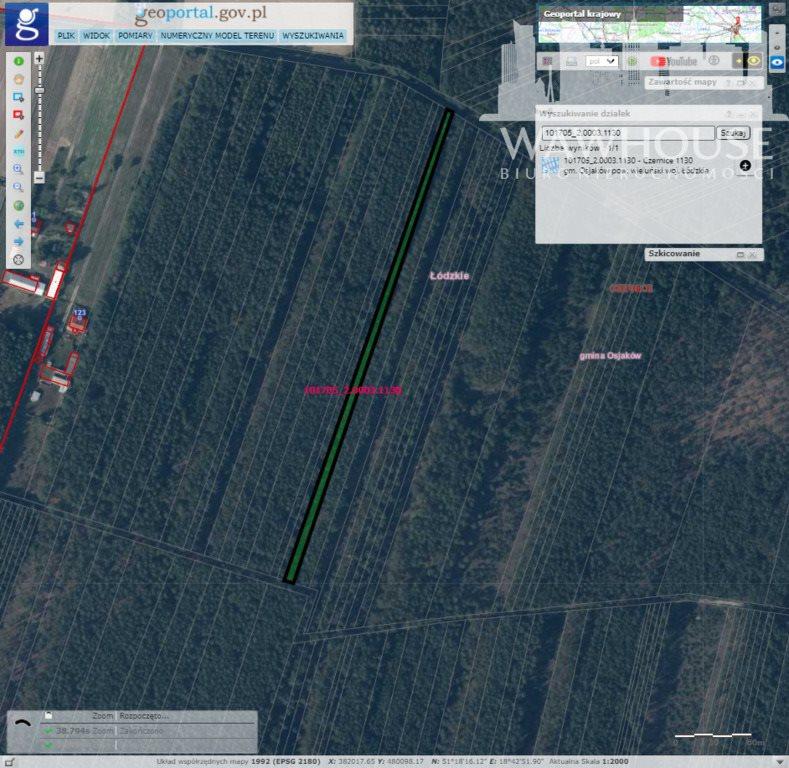 Działka leśna na sprzedaż Czernice  34700m2 Foto 11