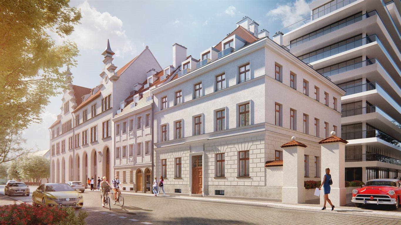 Mieszkanie dwupokojowe na sprzedaż Wrocław, Stare Miasto, Księcia Witolda  50m2 Foto 1