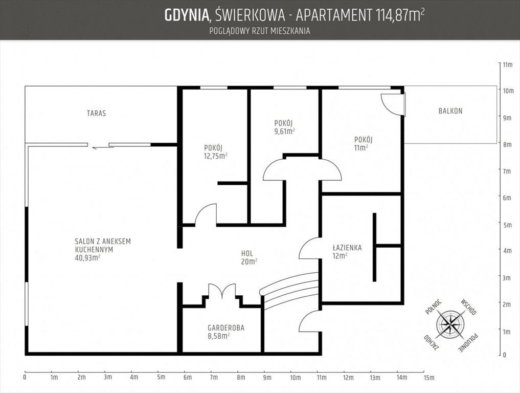 Mieszkanie czteropokojowe  na sprzedaż Gdynia, Orłowo, Świerkowa  115m2 Foto 8